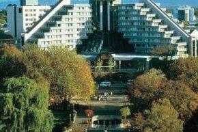 Вид на Crowne Plaza Hotel Christchurch