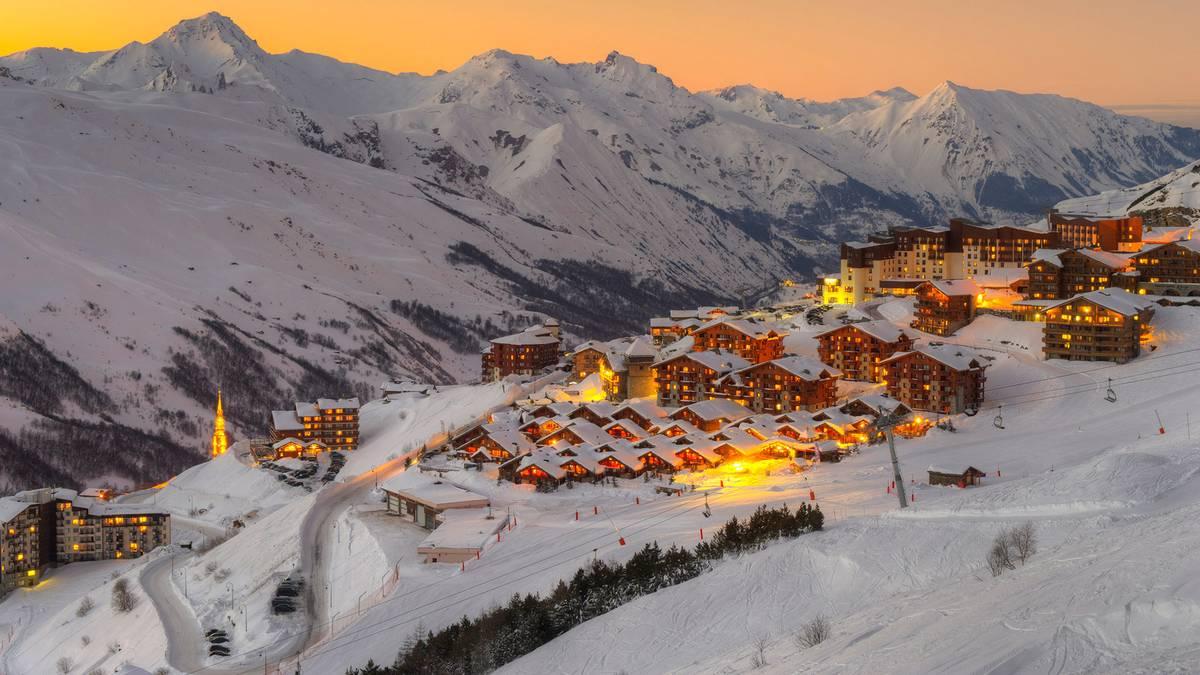 Бюджетные горнолыжные курорты Франции по очень привлекательной цене!