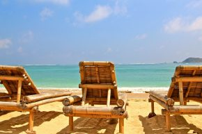 остров Ломбок, пляж
