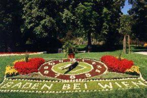 Баден, цветочные часы