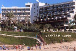 Вид на Grecian Sands Hotel