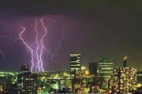 Йоханнесбург во время грозы