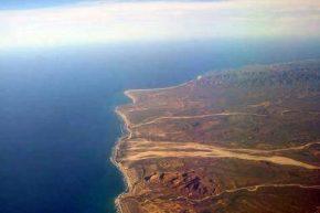 Остров Сокорро. Вид сверху