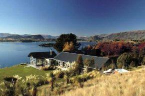 Вид на Whare Kea Lodge