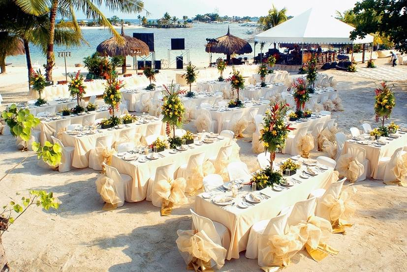 Bluewater maribago wedding