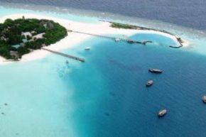 Вид на Dhoni Island сверху