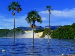 Водопад, Национальный парк Канайма