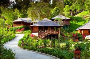 Вид на Bunga Raya