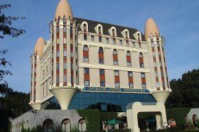 Вид на Efteling Hotel