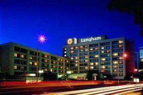 Вид на Langham Hotel Auckland