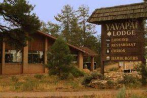 Вид на Yavapai Lodge
