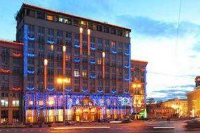 Вид на Dnipro Hotel