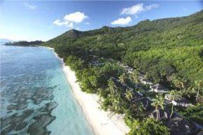 Вид на Hilton Seychelles Labriz Resort and Spa