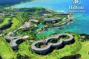 Вид на Hilton Waikoloa Village