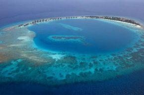 Вид на Viceroy Maldives