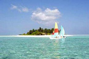 Вид на Holiday Island Resort & Spa