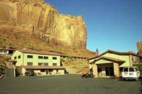 Вид на Goulding's Lodge