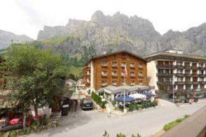 Вид на Grichting-Badnerhof Swiss Quality Leukerbad Hotel