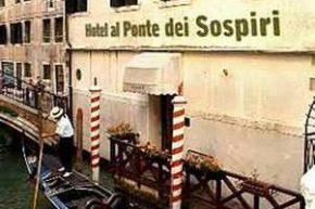 Вид на Hotel Al Ponte Dei Sospiri