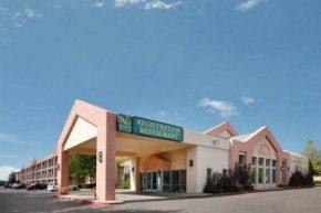 Вид на Canyon Plaza Quality Inn & Suites Hotel