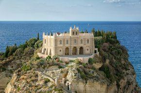 Church Santa Maria del Isola, Tropea,Italy