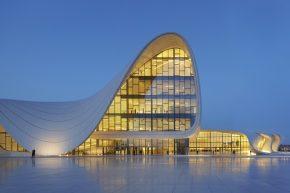 Баку, центр Гейдара Алиева